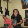 Moel & Dayu, Bali Metalheads. Featured in the book (Indonesia)