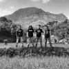One of Indonesias biggest metalbands in their hometurfs