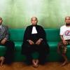 Ombat of grindcore band Tengkorak, Jakarta – Indonesia